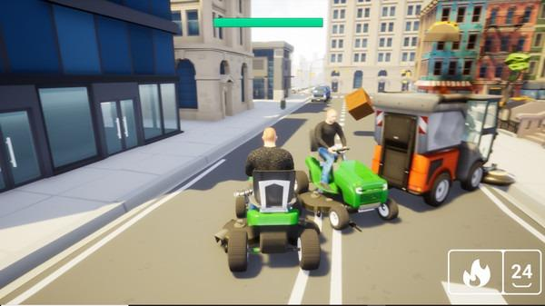 Lawnmower Game Battle Free For PC